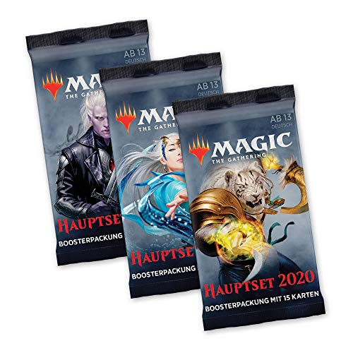 Magic The Gathering - Hauptset M20 - 3X Booster Packung - deutsch von Magic The Gathering