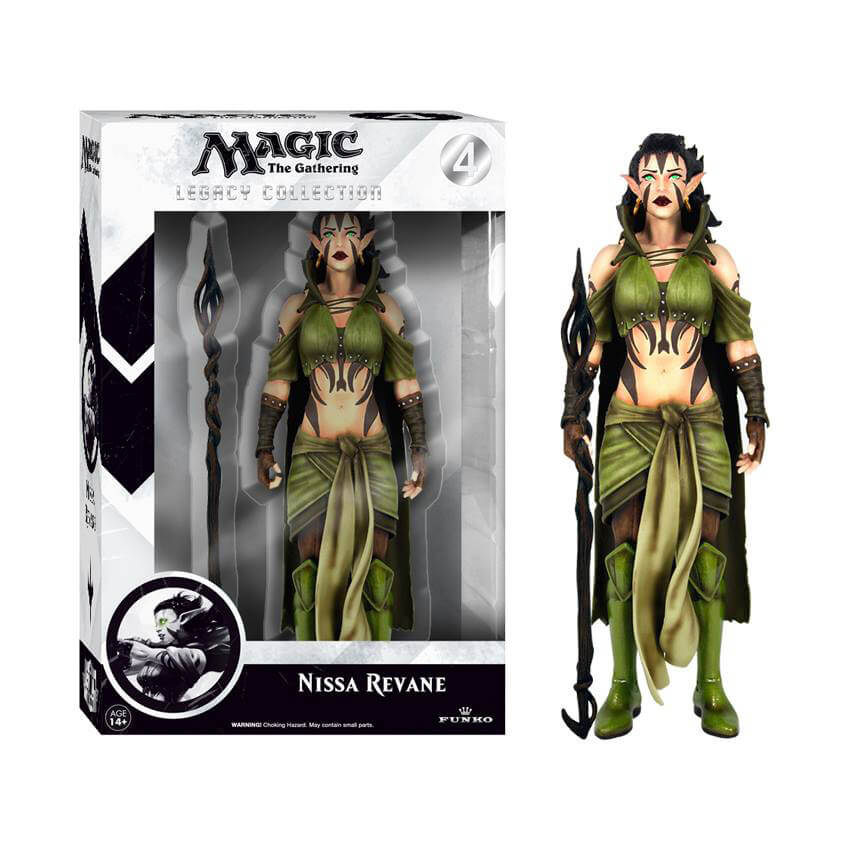 Magic The Gathering Nissa Revane Legacy Action Figure von Magic The Gathering