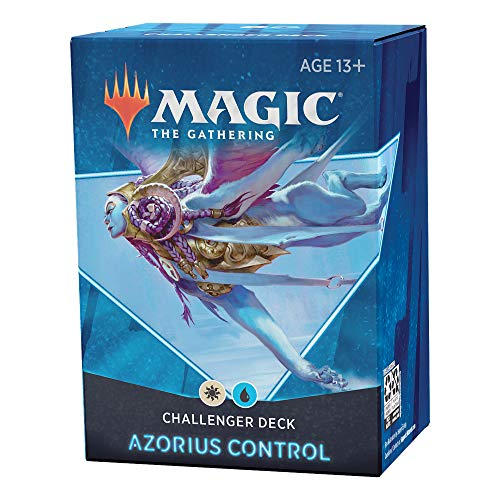 Magic the Gathering Challenger Deck 2021 – Azorius-Kontrolle, Blau-Weiß (Englisch Version) von Magic The Gathering