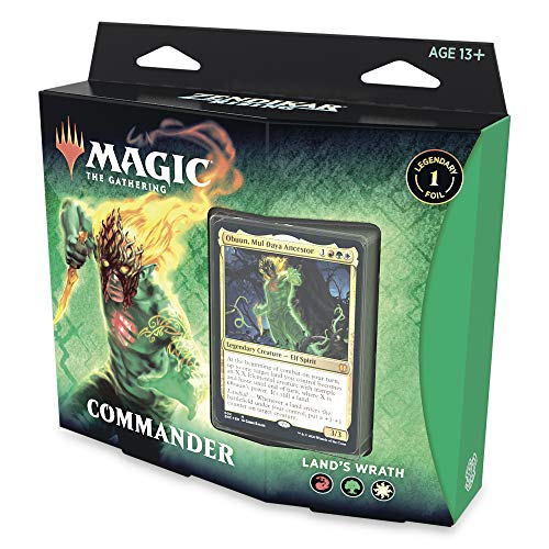 Magic: The Gathering Zendikar Rising Commander Land's Wrath (rot-grün-weiß) Deck von Magic The Gathering