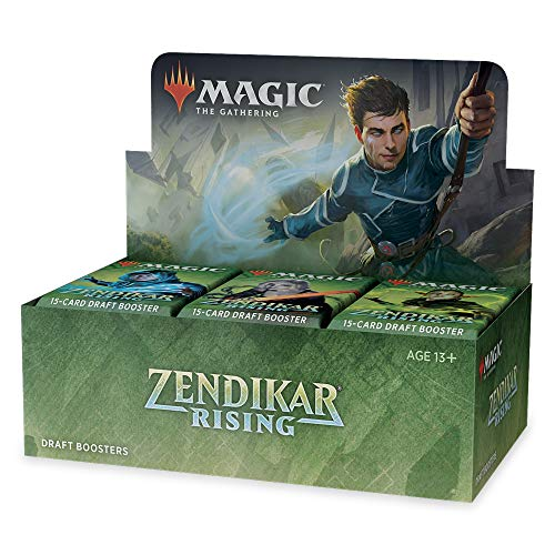 Magic: The Gathering – Zendikar Rising Draft Booster Display mit 36 Packungen, C75380000 von Magic The Gathering
