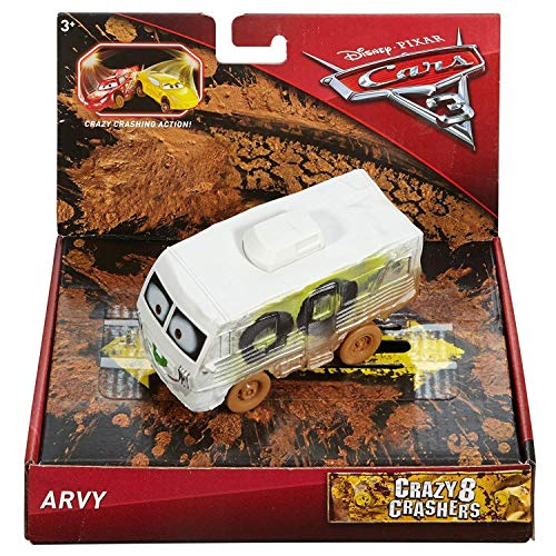 Mattel Disney Cars FBH11 - Disney Cars 3 Crazy 8 Crashers Oversized Arvy von Disney Pixar Cars