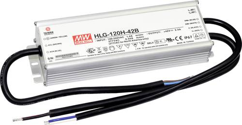 Mean Well HLG-120H-36B LED-Treiber, LED-Trafo Konstantspannung, Konstantstrom 122W 3.4A 18 - 36 V/DC von Mean Well