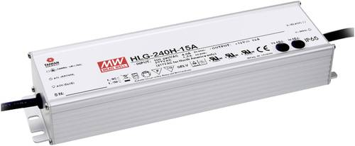 Mean Well HLG-240H-20A LED-Treiber, LED-Trafo Konstantspannung, Konstantstrom 240W 12A 20 V/DC PFC-S von Mean Well