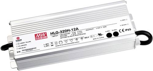 Mean Well HLG-320H-24B LED-Treiber, LED-Trafo Konstantspannung, Konstantstrom 320W 13.3A 12 - 24 V/D von Mean Well