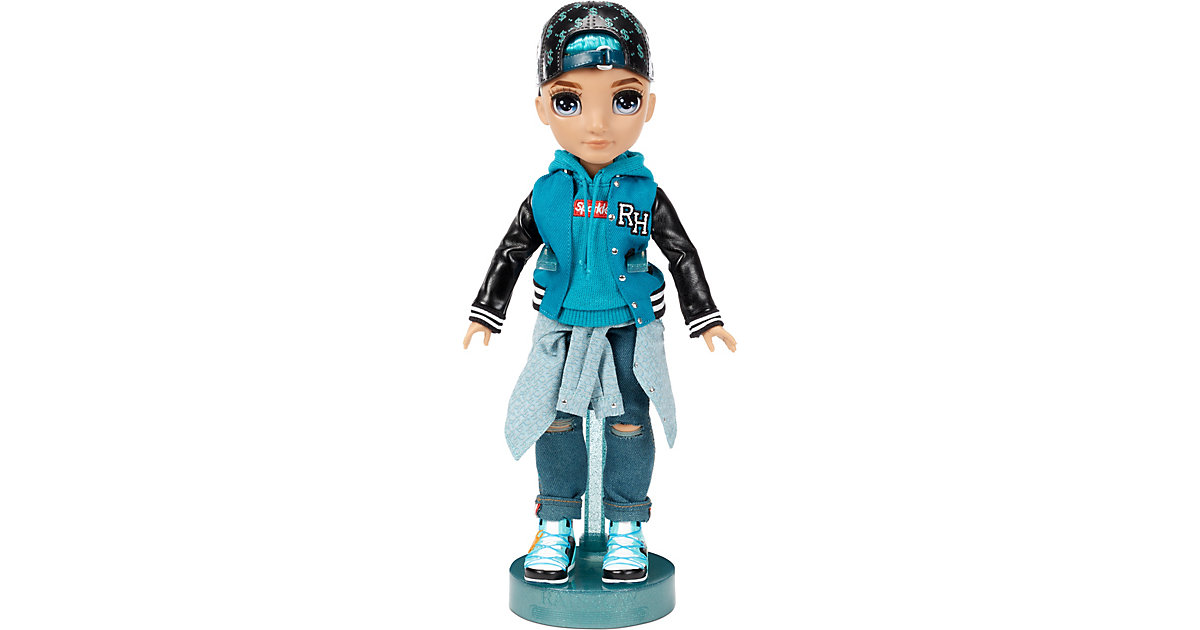 Rainbow High Fashion Doll - River Kendall (Teal Boy) petrol von Mga