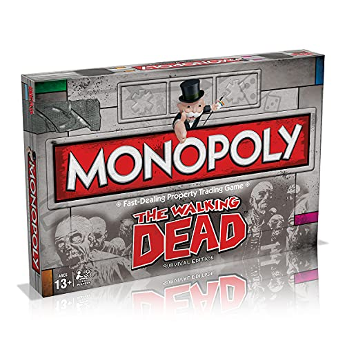 Monopoly The Walking Dead Survival Edition (UK Version) von Monopoly