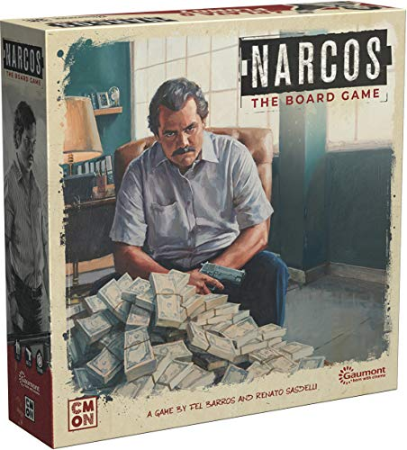 Cool Mini or Not Narcos The Board Game - EN von Cool Mini or Not