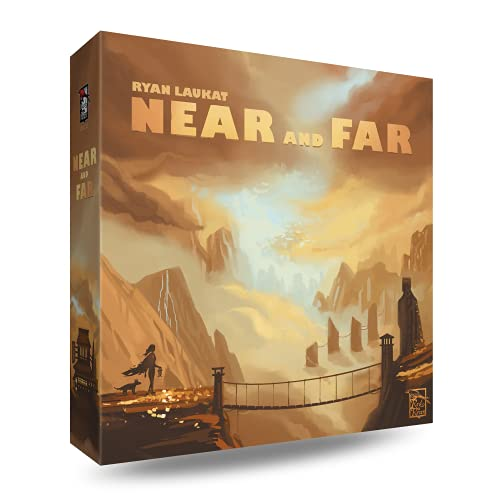 Red Raven Brettspiel RVM015 Near and Far von Red Raven Games