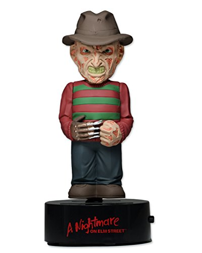 Neca NECA39758 - Nightmare On The Elm Street - Freddy Krueger Body Knocker Solar Powered Bobble, 15 cm von Neca