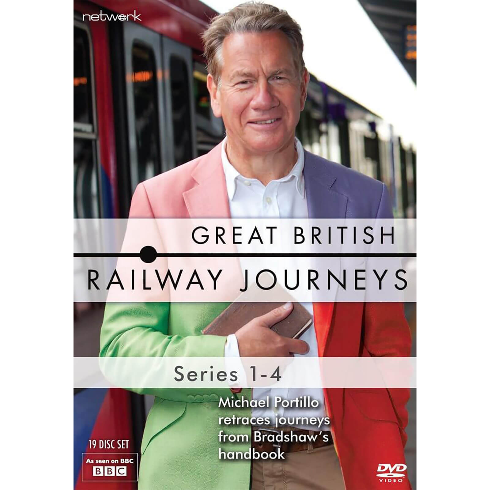 Great British Railway Journeys: Series 1-4 von Network