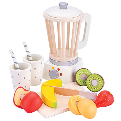 New Classic Toys 10708 Kinderrollenspiele, Smoothie Maker-White, Weis von New Classic Toys