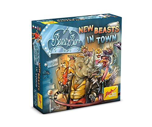 Zoch 601105093 - Beasty Bar - New Beasts in Town, Kartenspiel von Zoch