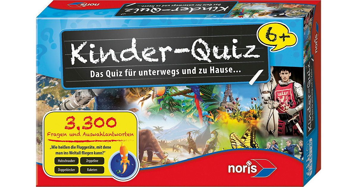 Kinderquiz schlaue Kids ab 6  Kinder von Noris