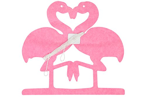 Partygirlande - pinke Flamingos, 2m, Papier von Out of the Blue