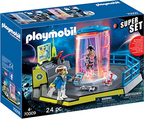 PLAYMOBIL 70009 SuperSet Galaxy Police Gefängnis, bunt von PLAYMOBIL