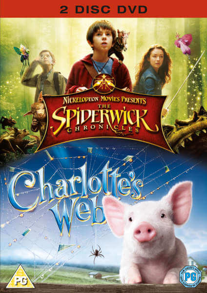 Spiderwick Chronicles/Charlottes Web von Paramount Home Entertainment