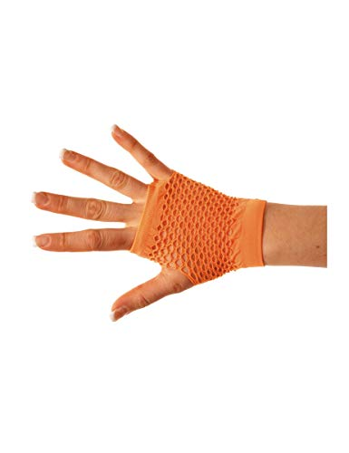 Party Pro 86502307 Fingerlose, orange, Einheitsgröße von Party Pro