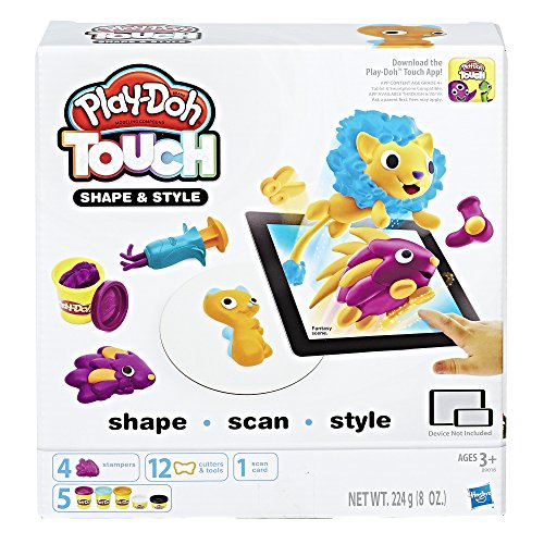 Hasbro Play-Doh B9018100 - Touch Haare Boosterset, Knete von Hasbro