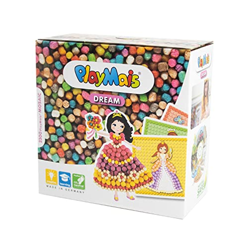 PlayMais 160178 - PlayMais Mosaic Dream Princess, Bastelset von PlayMais