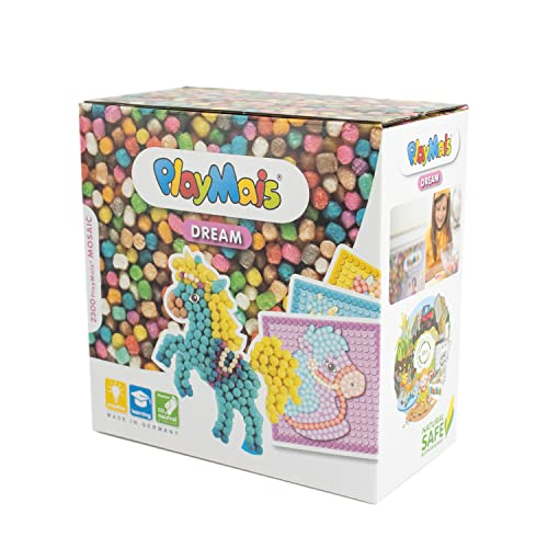 PlayMais 160179 - PlayMais Mosaic Dream Pony, Bastelset von PlayMais