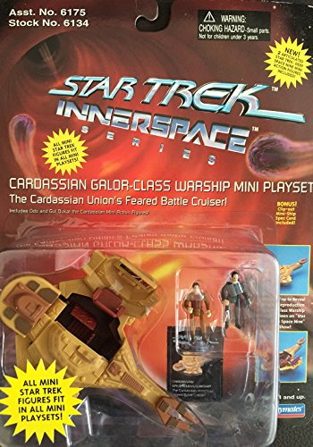 Star Trek Innerspace Series: The Cardassian Union´s Feared Battle Cruiser von Playmates