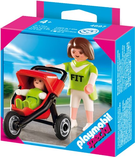 Playmobil 4697 - Special Mama mit Baby-Jogger von PLAYMOBIL Special Plus
