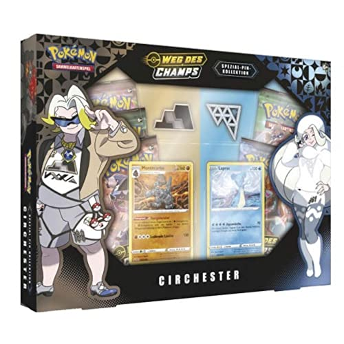 Pokemon TCG Weg des Champs Spezial Pin-Kollektion Circhester Deutsch von Pokemon TCG