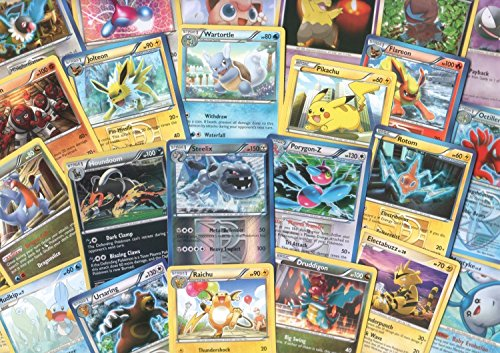 100 Assorted Pokemon Cards with Foils & Bonus Promo von Pokemon Company International