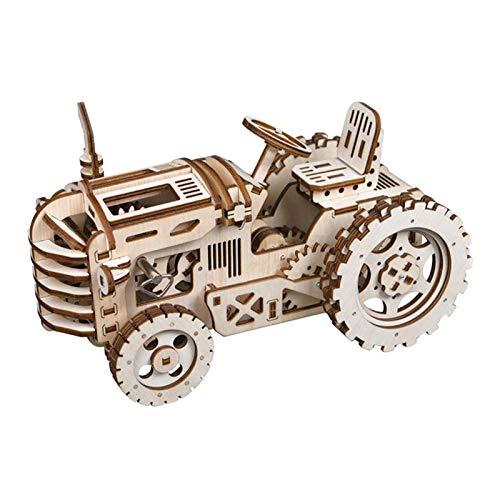 Kalender Kreative Diy 3d Perpetual Kalender Holz Mechanische Modell Puzzle Spiel Montage Spielzeug Geschenk Office & School Supplies