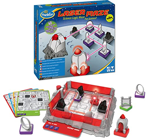 Ravensburger 76348 ThinkFun Laser Maze Junior Spiel-Smart Game von Ravensburger