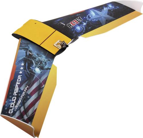 Reely FPV Wing Cloud Raptor RC Indoor-, Microflugmodell Bausatz 1000mm von Reely