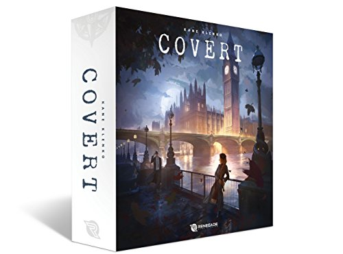 Renegade Game Studios RGS00511 - Brettspiel Covert von Renegade Game Studios