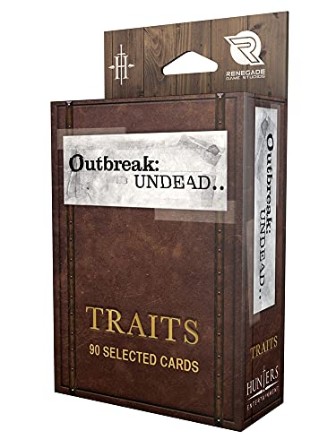 Renegade Game Studios 885 - Outbreak Undead Traits Deck von Renegade Game Studios