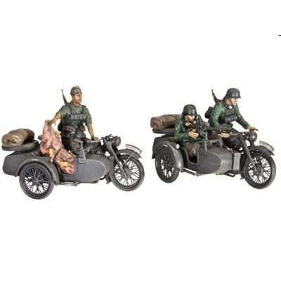 Revell 3090 - German Motorcycle R-12 with Sidecar + Crew von Revell