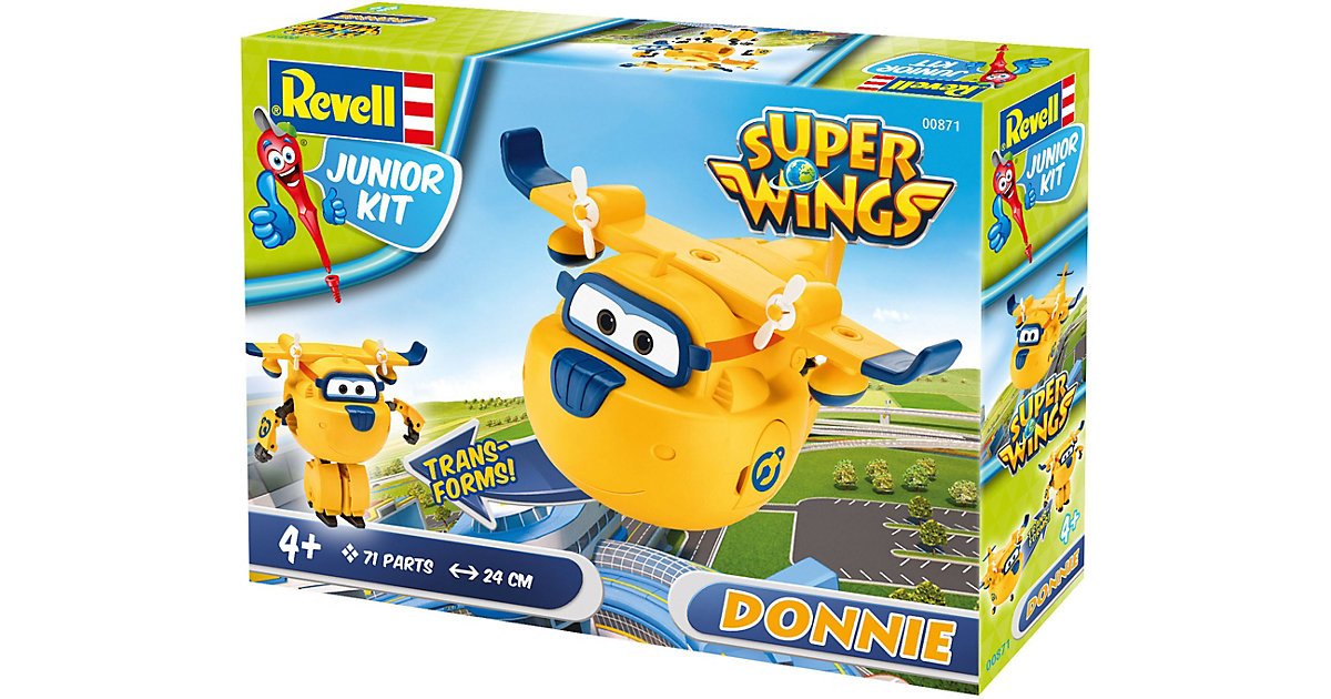 Revell Junior Kit Super Wings - Donnie von Revell