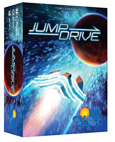 Race for the Galaxy Jump Drive - English von Rio Grande Games