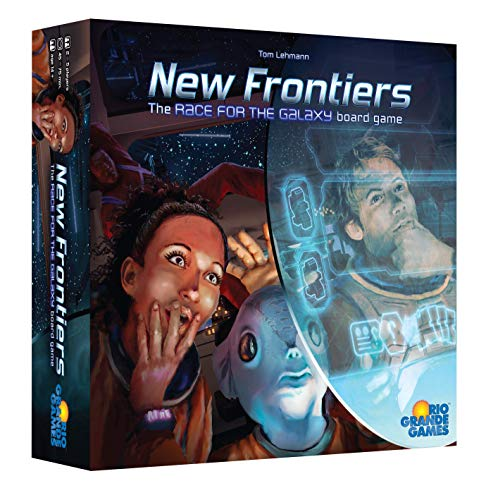 Rio Grande Games New Frontiers - English, RGG556 von Rio Grande Games