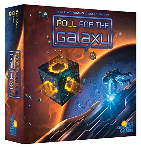 Rio Grande Games 492RGG - Roll for The Galaxy - Englische Version von Rio Grande Games