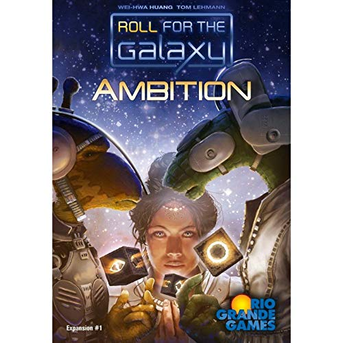 Roll for the Galaxy: Ambition (Exp.) (engl.) von Rio Grande Games