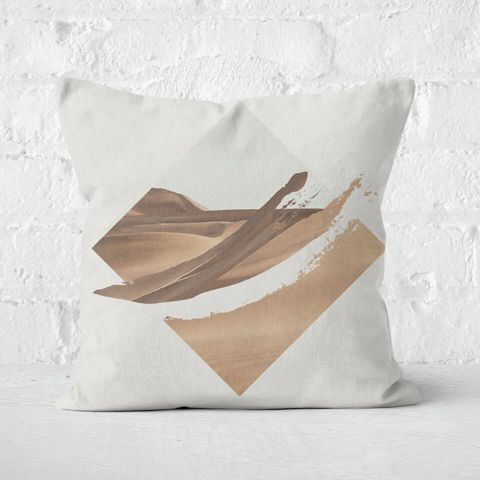 Strange Waves Cushion Square Cushion - 60x60cm - Soft Touch von Robert Farkas