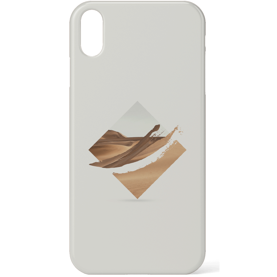 Strange Waves Phone Case for iPhone and Android - iPhone XS Max - Snap Hülle Matt von Robert Farkas