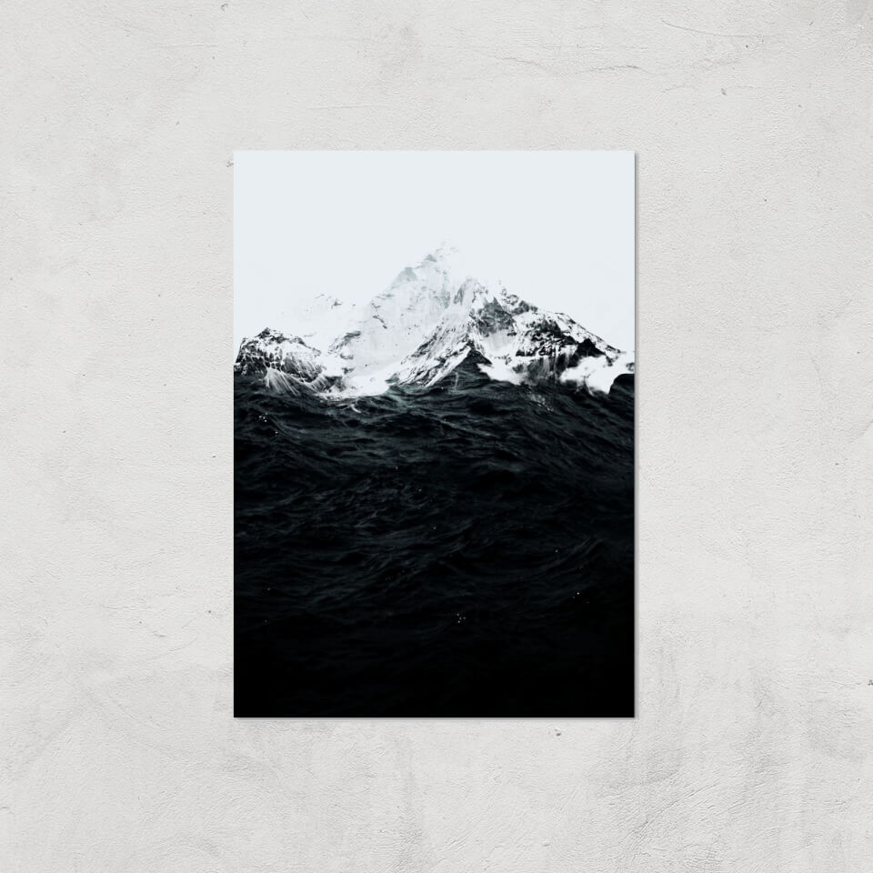 Those Waves Were Like Mountains Giclee Art Print - A3 - Print Only von Robert Farkas