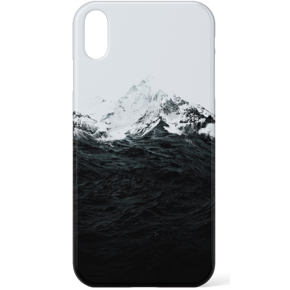 Those Waves Were Like Mountains Phone Case for iPhone and Android - Samsung S6 - Snap Hülle Glänzend von Robert Farkas