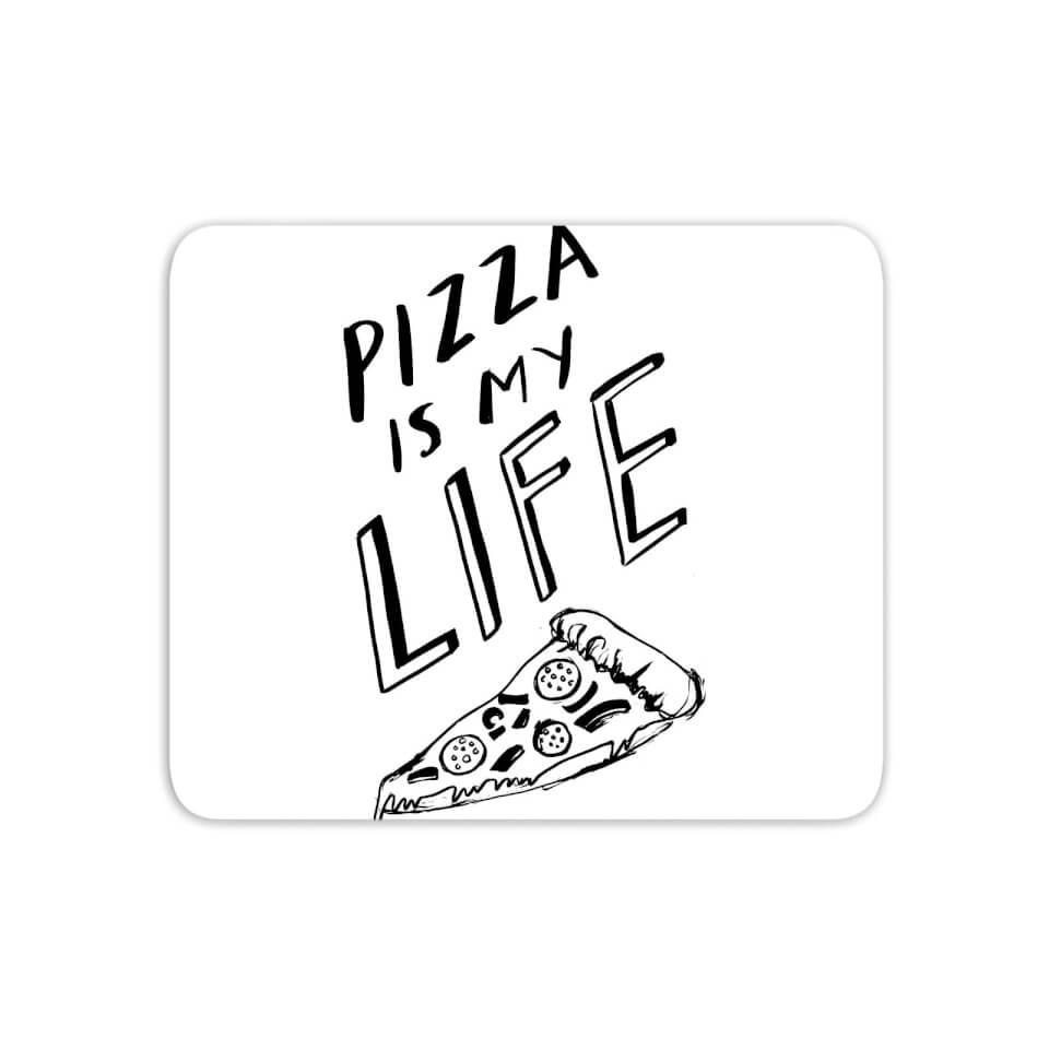 Pizza Is My Life Mouse Mat von Rock On Ruby