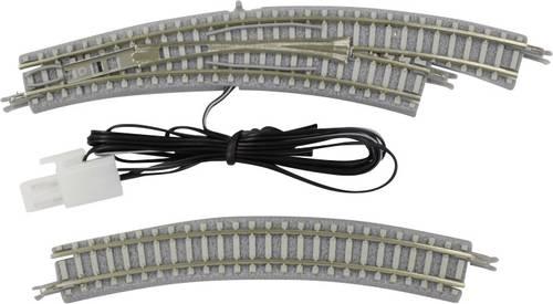 Z Rokuhan Gleis mit Bettung 7297002 Gebogenes Gleis  45 ° 195 mm