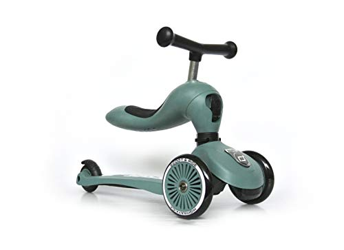 Scoot & Ride - Highwaykick 1 - Forest - Scooter mit sitz von Scoot & Ride