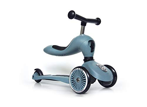 Scoot & Ride Highwaykick 1 - Steel - Scooter mit sitz von Scoot & Ride