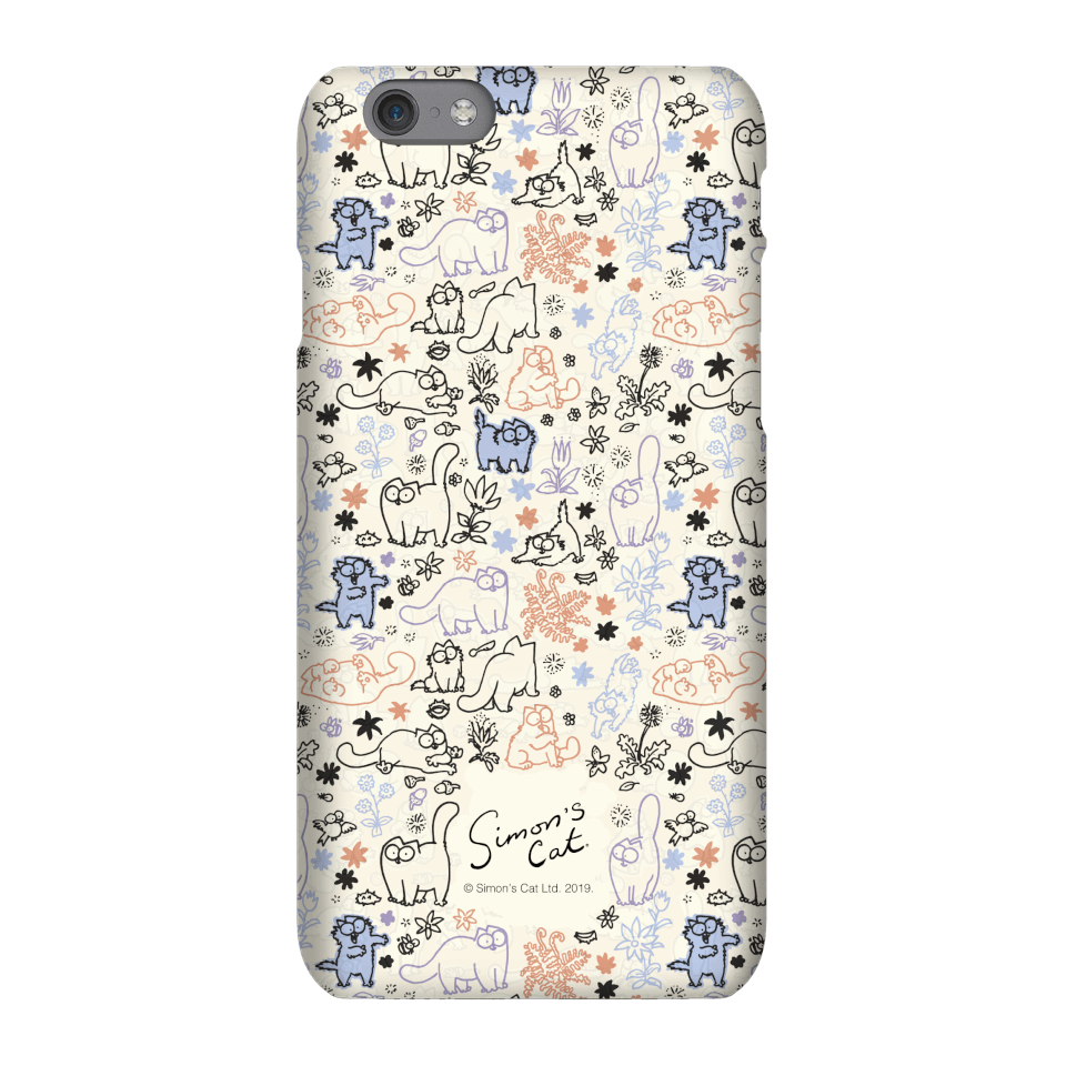 Simons Cat Natures Cat Phone Case for iPhone and Android - Samsung S9 - Snap Hülle Matt von Simon's Cat