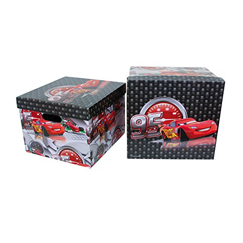 Small Foot Company 9195 - Aufbewahrungsbox - Disney Cars von Small Foot by Legler